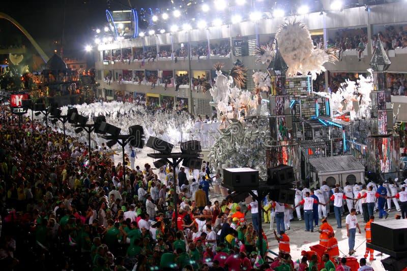 Carnaval in Rio stock afbeelding
