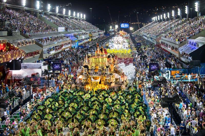 Carnaval 2014 - Rio de Janeiro photos libres de droits