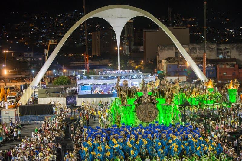 Carnaval 2014 - Rio de janeiro imagens de stock