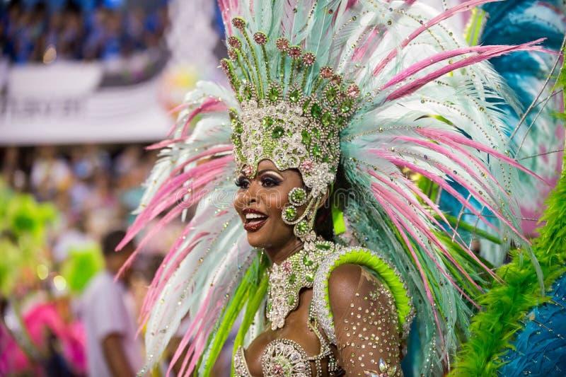Carnaval 2014 - Rio de Janeiro fotografía de archivo