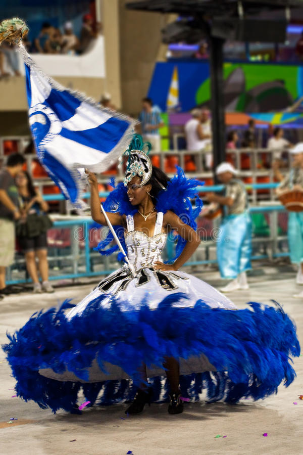 Carnaval in Rio de Janeiro stock foto's