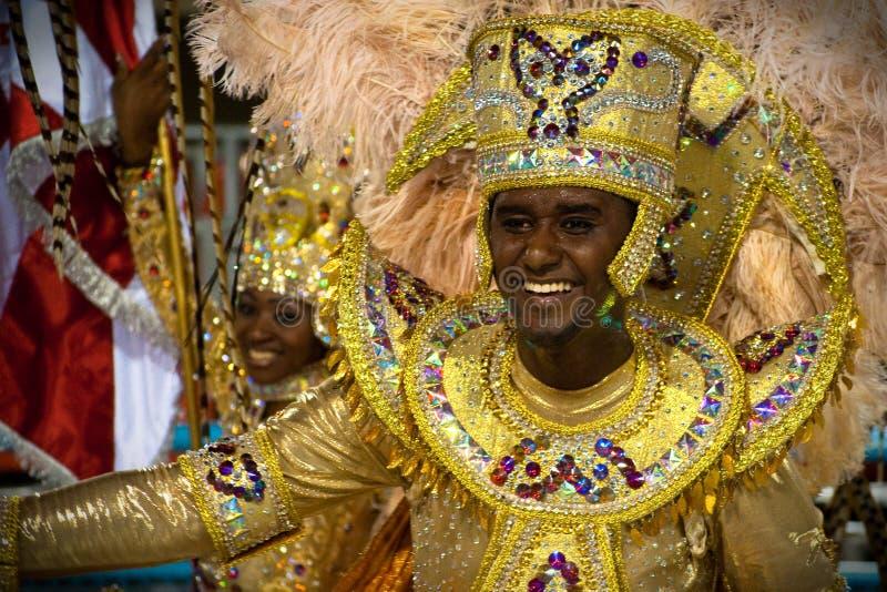 Carnaval in Rio de Janeiro stock fotografie