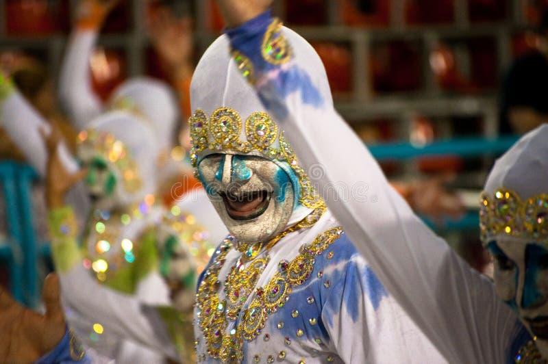 Carnaval in Rio de Janeiro royalty-vrije stock foto's