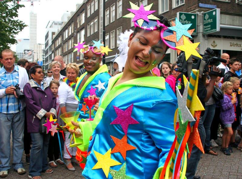 Carnaval Rotterdam fotografía de archivo