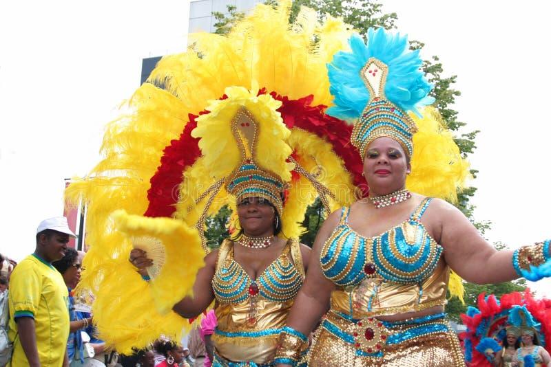 Carnaval Rotterdam 2008 del verano fotografía de archivo libre de regalías