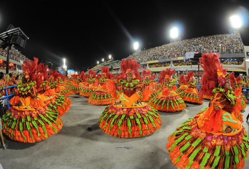 Carnaval Samba Dancer Brazil fotos de stock