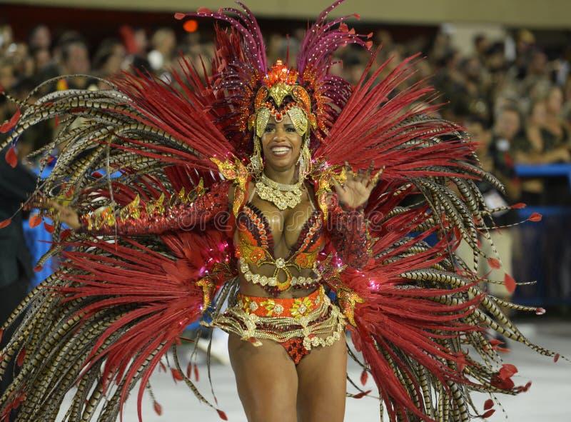 Carnaval Samba Dancer Brazil imagens de stock royalty free