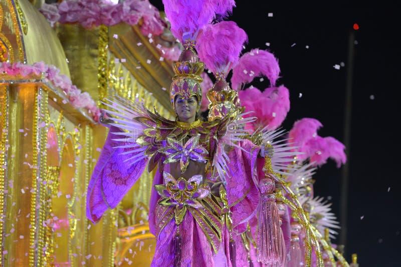 Carnaval Samba Dancer Brazil fotografia de stock