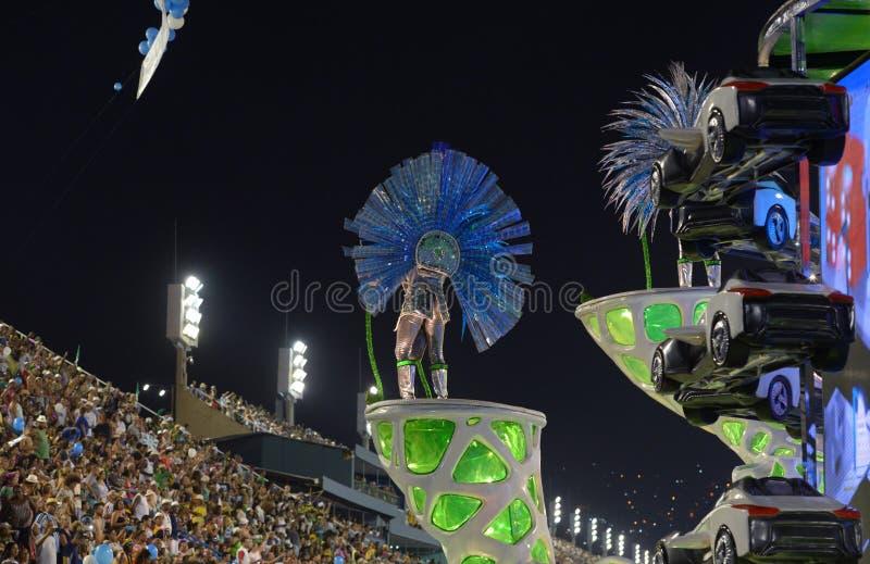 Carnaval Samba Dancer Brazil foto de stock royalty free