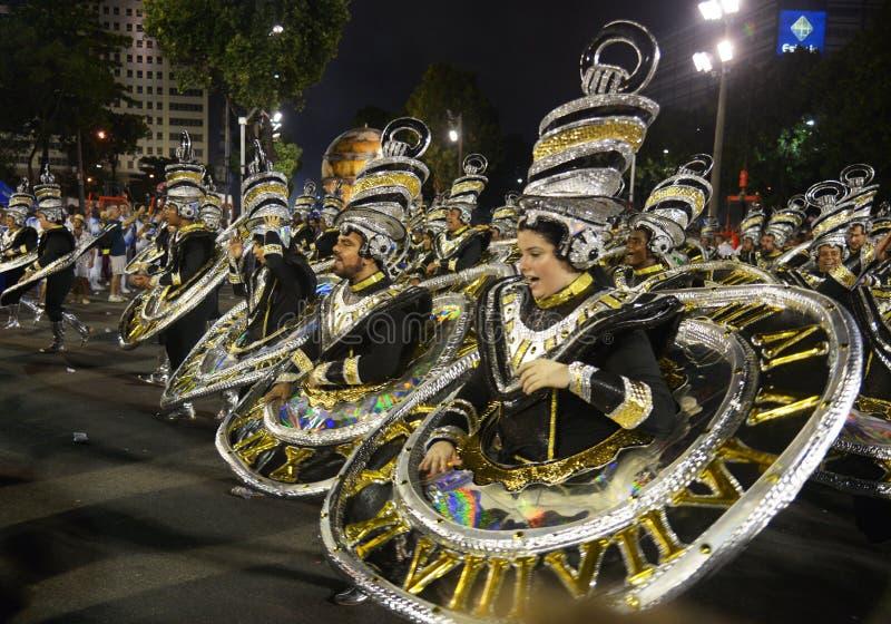 Carnaval Samba Dancer Brazil fotos de stock royalty free