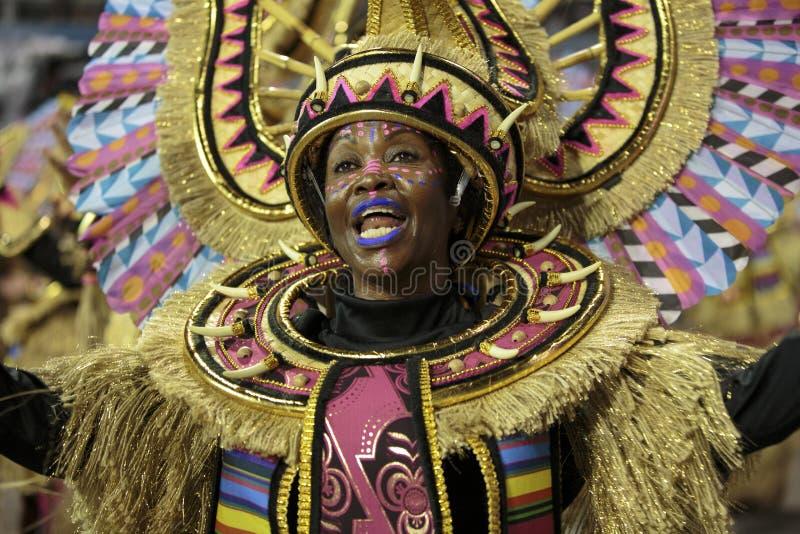 Carnaval Samba Dancer Brazil imagem de stock