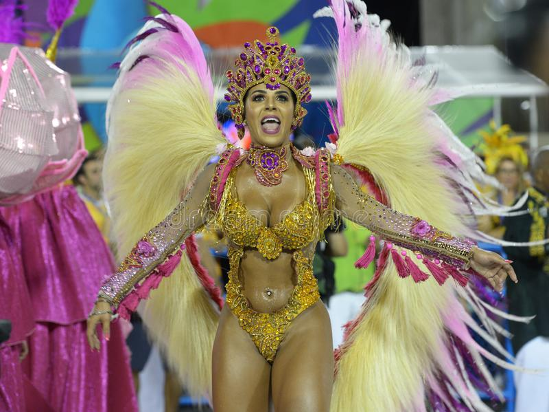 Carnaval Samba Dancer Brazil stock photos