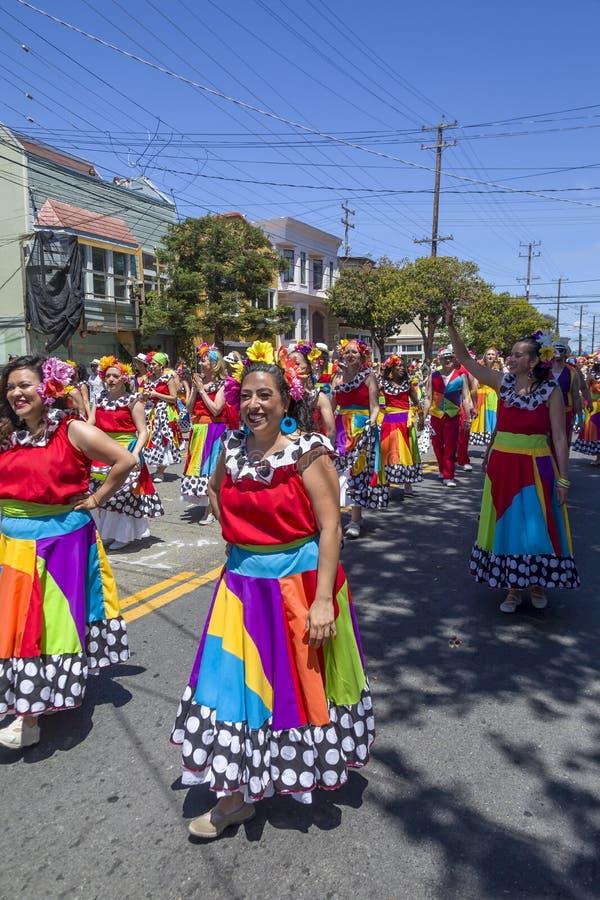 Carnaval San Fracisco 34 image libre de droits