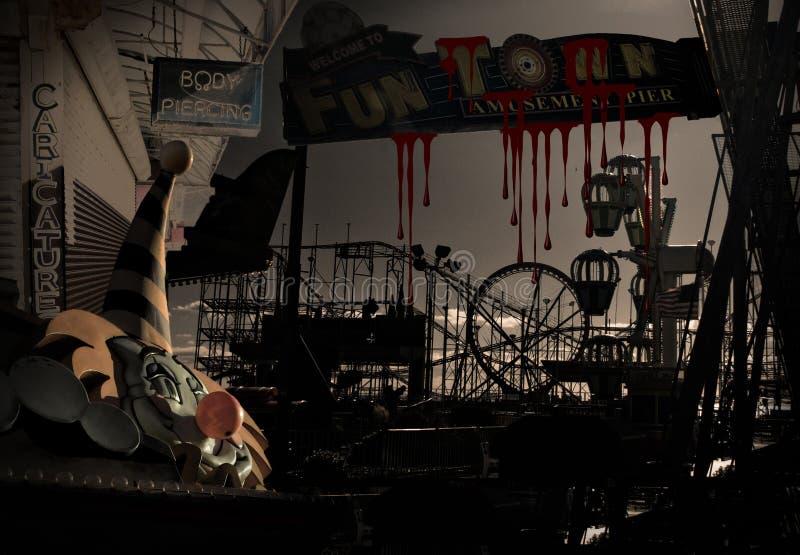 Carnaval sanglant illustration libre de droits