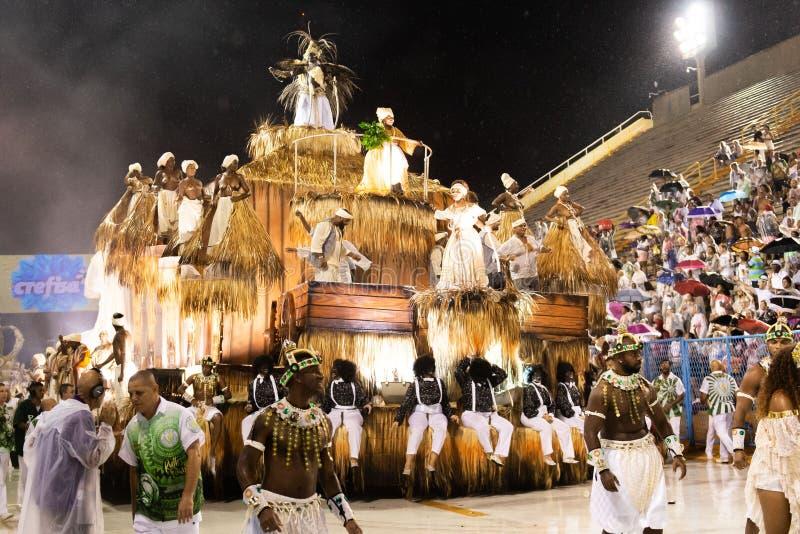 Carnaval Santa Cruz 2019 image stock