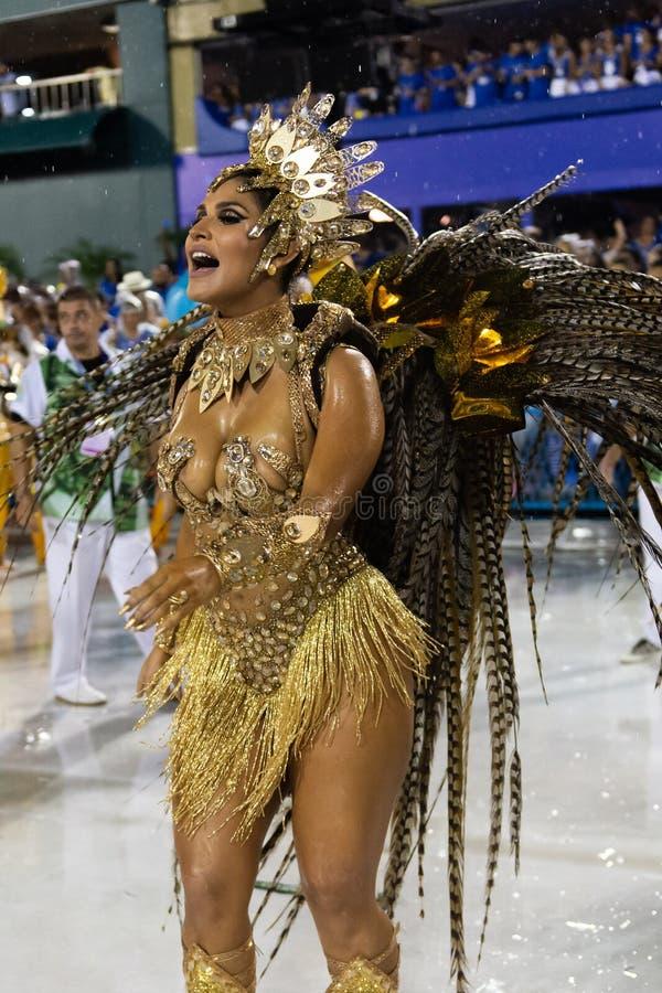 Carnaval 2019 Santa Cruz royalty-vrije stock fotografie