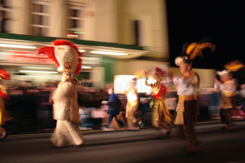 Carnaval, Somerset, Angleterre images libres de droits