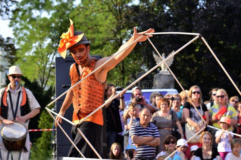 Carnaval Sztuk-Mistrzów, Lublin 2015 royalty free stock photo