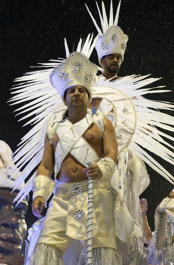 Carnaval 2019 - Unidos DA Ponte fotografía de archivo