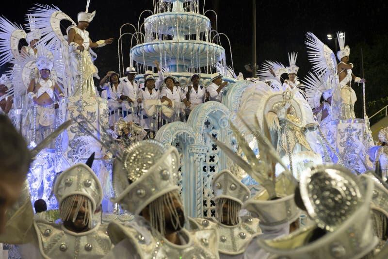 Carnaval 2019 - Unidos DA Ponte fotos de archivo