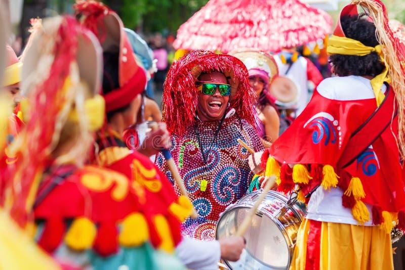 Carnaval van Culturen in Berlijn, Duitsland stock afbeelding