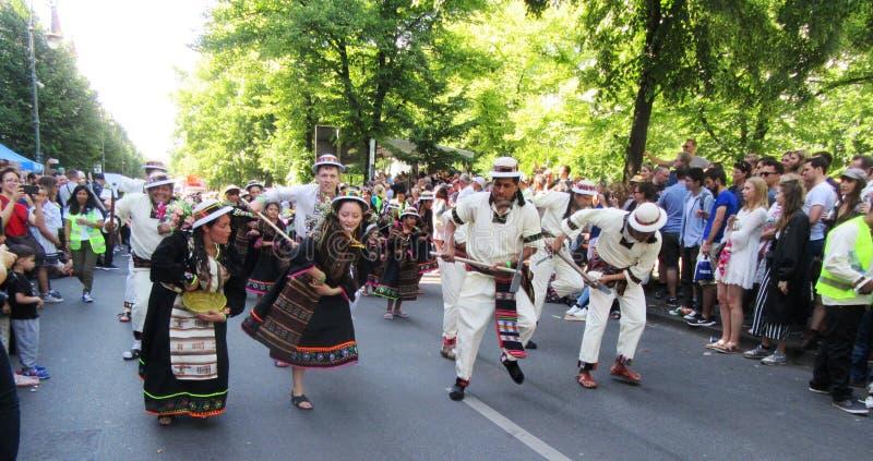 Carnaval van de Culturen stock foto