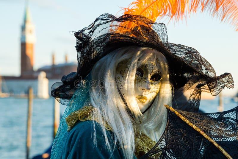Carnaval van de maskers van Venetië royalty-vrije stock foto's
