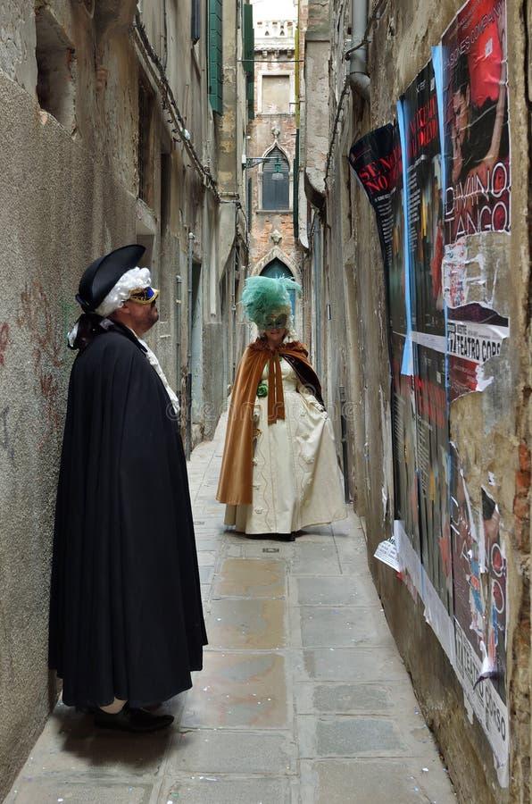 Carnaval van Venetië, Italië royalty-vrije stock afbeeldingen