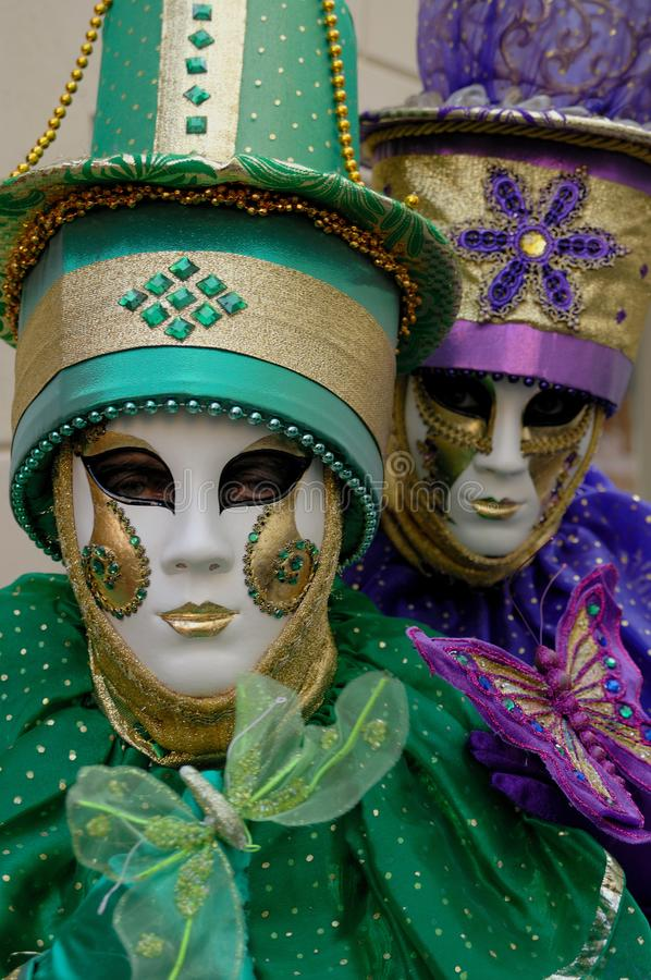 Carnaval Venetië 26 stock foto