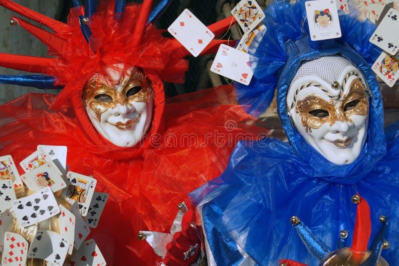 Carnaval in Venetië - Maskers royalty-vrije stock fotografie