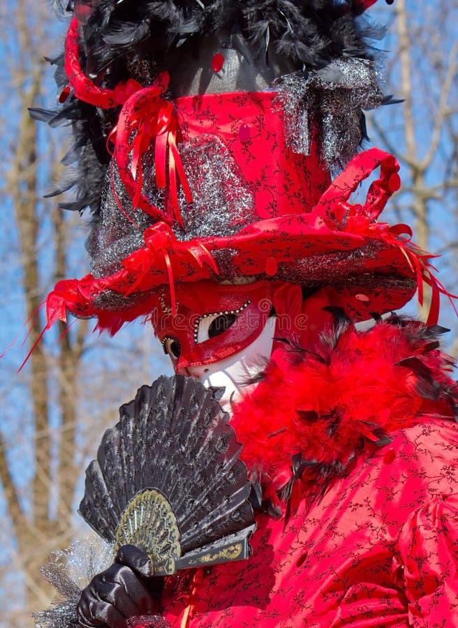 Carnaval Venetian em Annecy, França imagens de stock