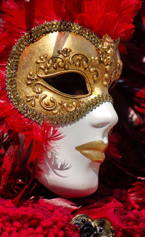 Carnaval Venetian em Annecy, França imagens de stock royalty free