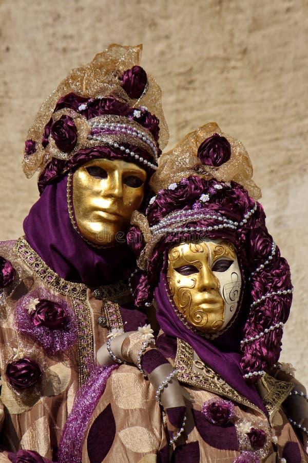Carnaval Venetian em Annecy, França foto de stock royalty free