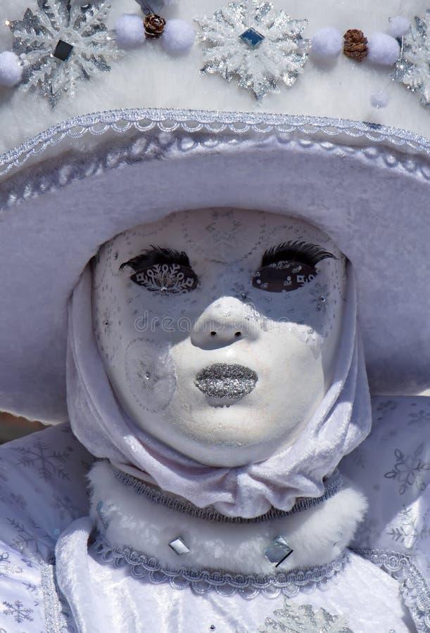 Carnaval Venetian em Annecy, França fotografia de stock royalty free