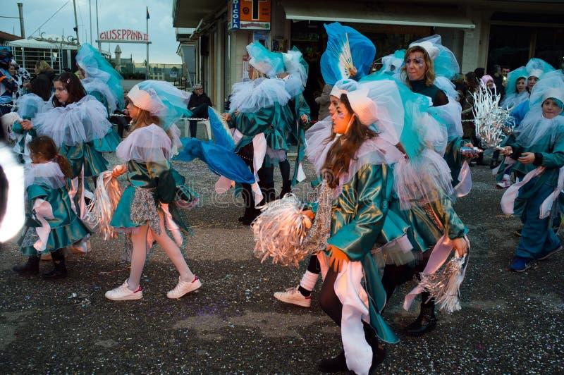 Carnaval, Viareggio, Itália, Europa fotografia de stock