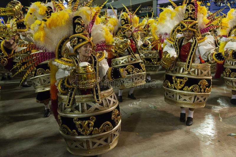 Carnaval 2019 - Vila Isabel images stock