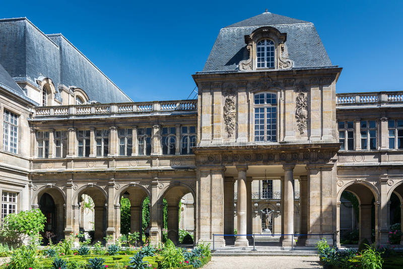 The Carnavalet Museum in Paris royalty free stock images