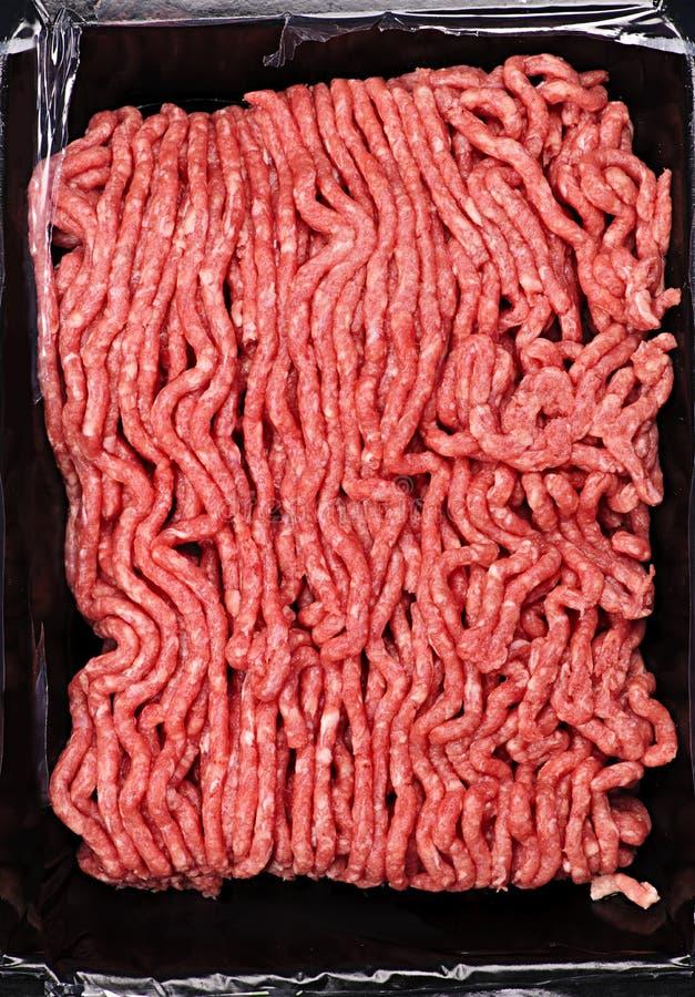 Carne à terra crua fotografia de stock