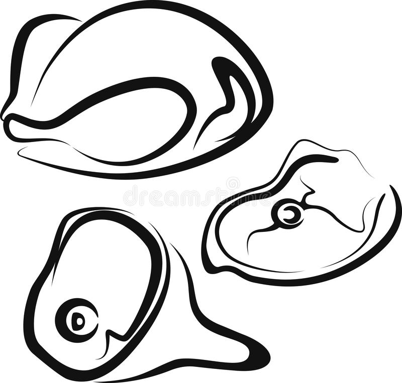 Download Carne ilustración del vector. Imagen de sección, gordo - 15562974