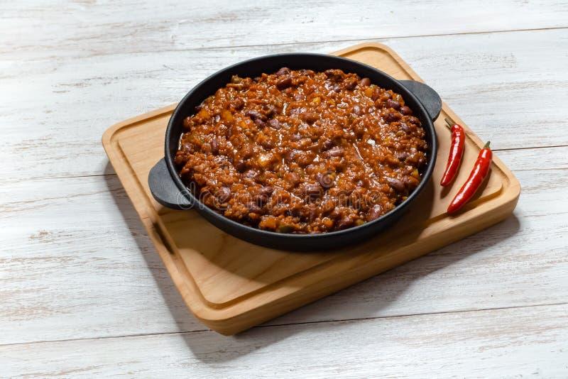 Carne Adovada : Ragoût rouge de porc du Nouveau Mexique Chili photo stock