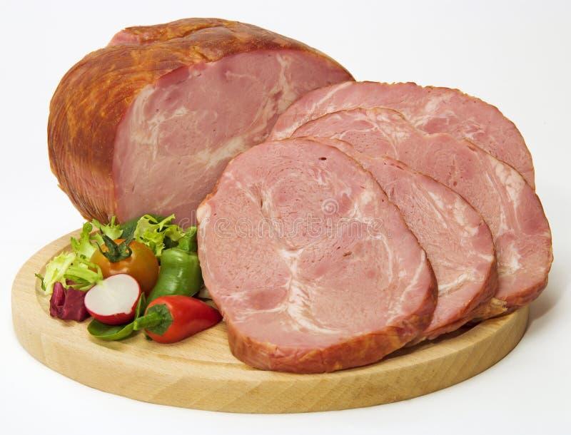 Carne affumicata immagini stock