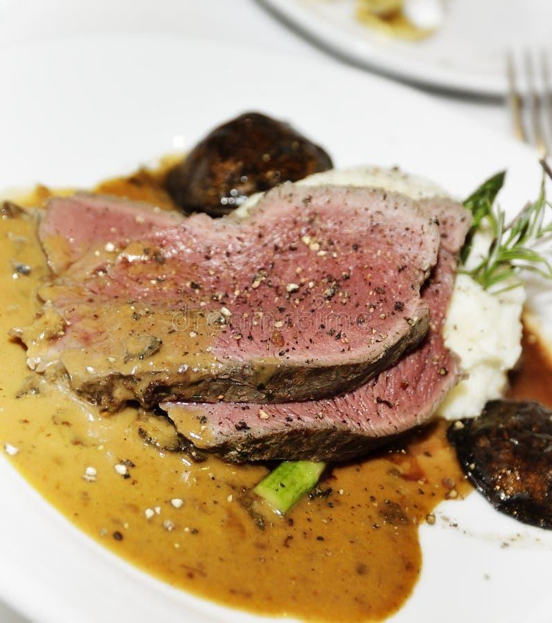 Carne asada de carne de vaca fotos de archivo