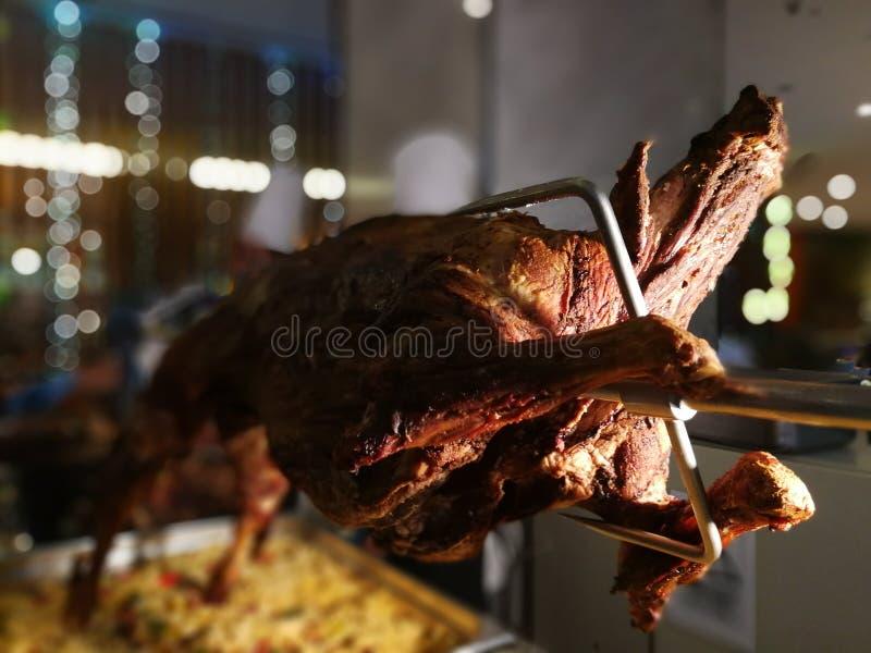Carne asada de cordero imagen de archivo libre de regalías