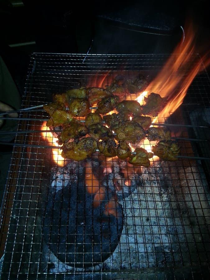 Carne asada del boti del pollo imagen de archivo
