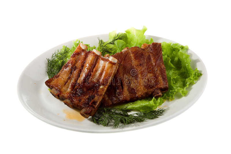 Download Carne asada a la parilla foto de archivo. Imagen de comida - 7275234