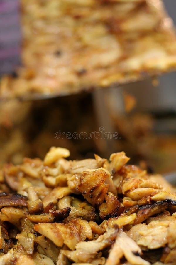 Carne asada a la parilla kebab turco fotos de archivo libres de regalías