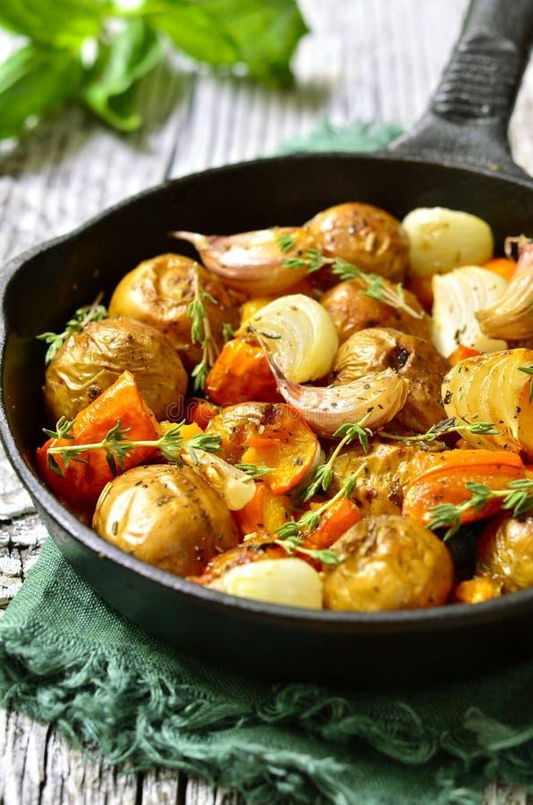 Carne asada vegetal del otoño imagen de archivo