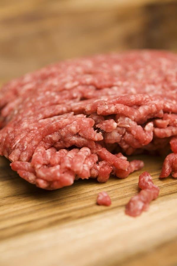 A carne australiana tritura imagem de stock