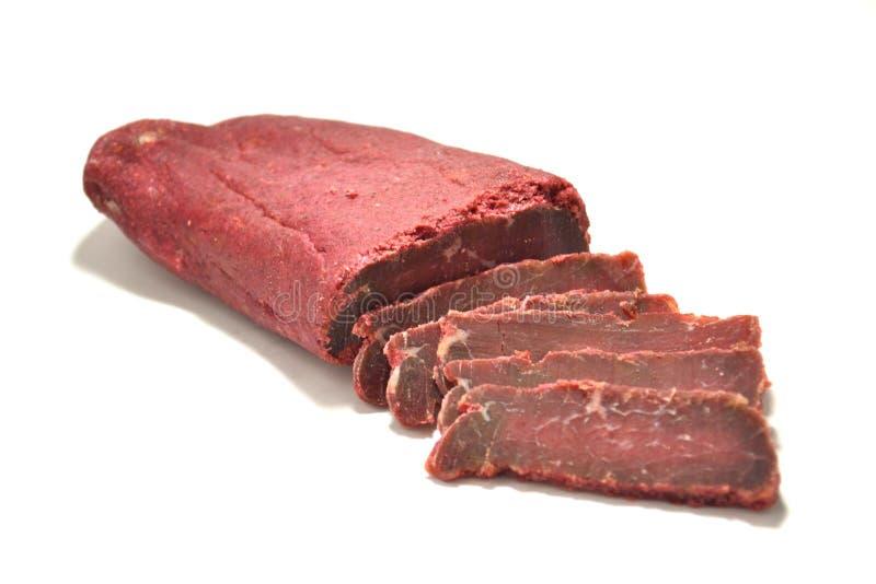 Carne Basturma fotografia de stock
