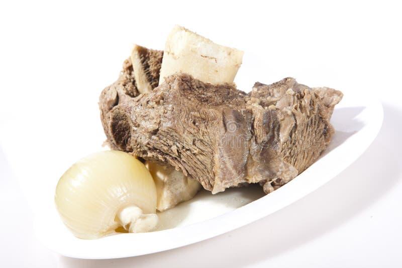 Carne bollita immagini stock